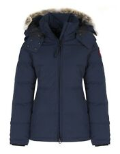 NWT CANADA GOOSE WOMEN'S CHELSEA PARKA #3804L (COLOR: INK BLUE SIZE: 2X-SMALL)