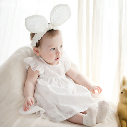 Very Cute Large Bunny Ears Baby Kids Children Headband Kids Hair Accessories