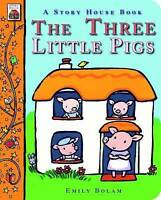 The Three Little Pigs (Story House Board Books)-ExLibrary
