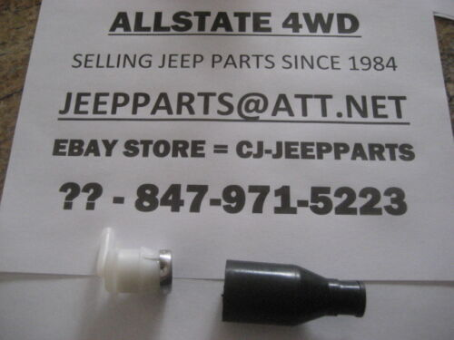 JEEP FUEL VENT VALVE /& CONNECTOR WRANGLER YJ 1987-1990 WITH 14.5 GAL TANK