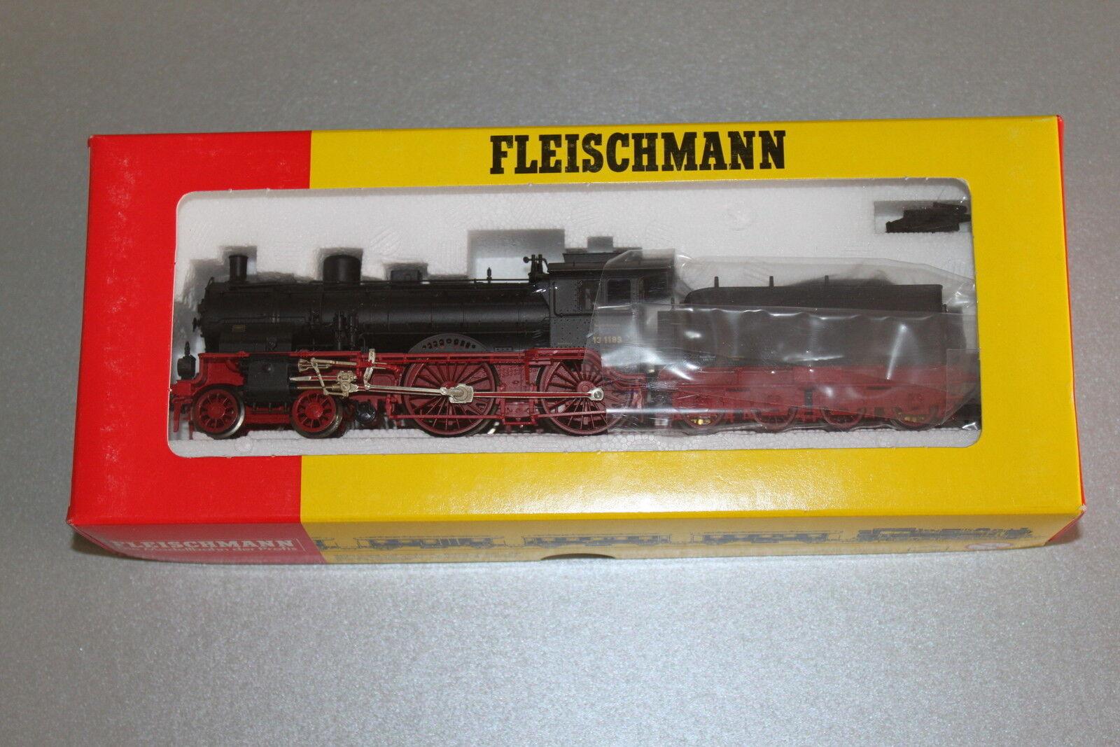 Fleischmann 1113 K máquina de vapor serie 13 1189 Imperio alemán tren pista h0 OVP