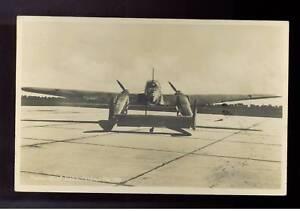 1941 Germany Feldpost RPPC FW 189 Recon Plane Cover Postcard