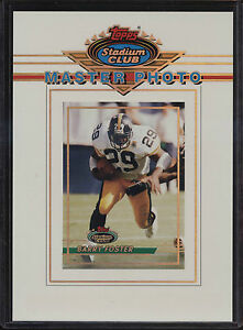 1993-Topps-Stadium-Club-5x7-Master-Photo-Barry-Foster-Pittsburgh-Steelers