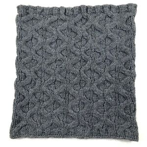 Portolano-Wool-Blend-Neck-Warmer-Thick-Cable-Knit-Ribbed-Edges-Gray-Square
