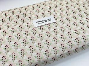 "Acuarela Floral Rosa 100/% Cotton Craft /& Patchwork Tela 44/"" Ancho M561 mTEX"