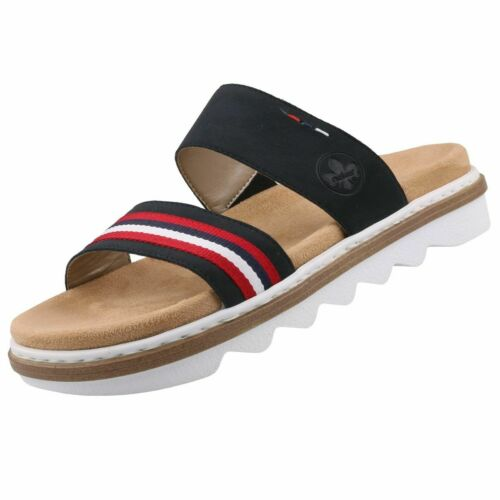 NEU Rieker Damenschuhe Schuhe Pantoletten Clogs Sandalen Damensandalen Bequem