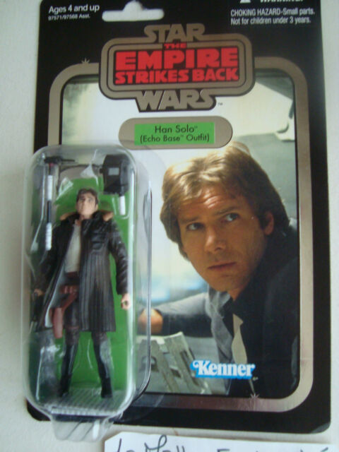 figurine star wars vc 03 Han Solo Echo Base Outfit  the vintage collection 2010
