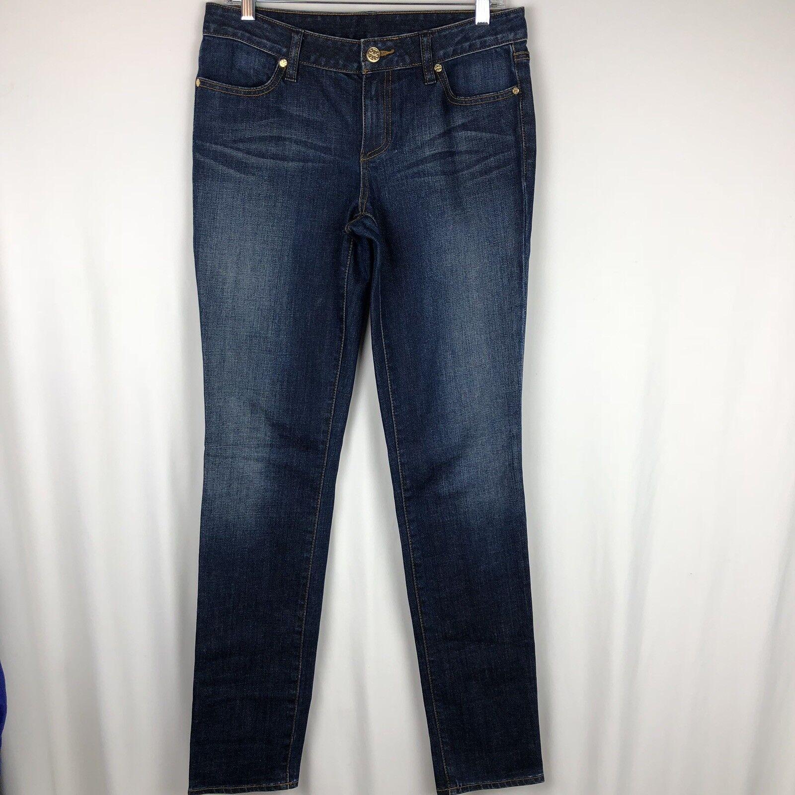 Tory Burch Women's Super Skinny Jeans size 29 Dark Wash