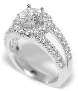 0-60-Ct-Diamond-Round-Halo-Semi-Mount-Setting-Engagement-Ring-14K-Gold