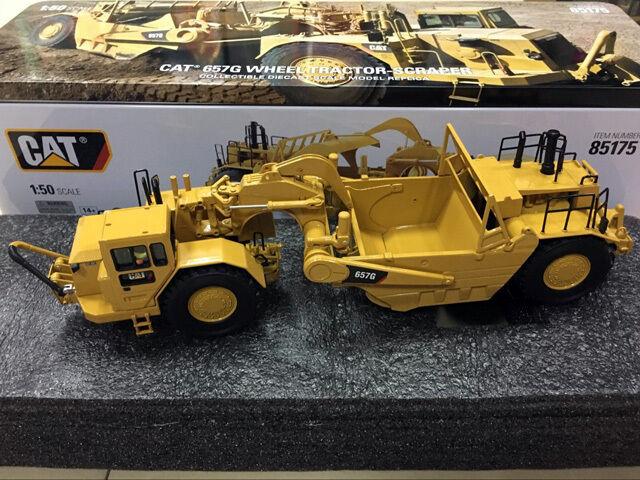 CAT Caterpillar 657 G tracteur à roues Grattoir 1 50 par Diecast Masters 85175