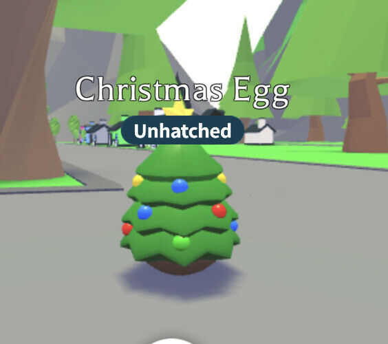 Roblox Adopt Me Christmas Egg Untouched   eBay