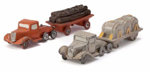 2 chenilles pour de camion T45 Jouets Citroen 1//43eme Plâtre et farine JRD /& CIJ