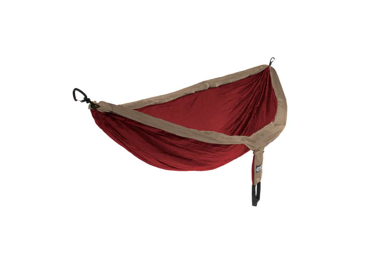 Eagles Nest Outfitters Eno Doble Hamaca Caqui Granate