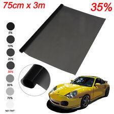 Auto Scheiben Tönungsfolie 76x300cm Black Plus 35% ink ABG Papiere u. Montageset