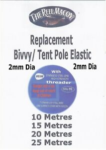 Bivvy Pole Elastic Replacement cord
