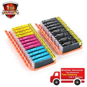 20PK ink for Canon PGI-250XL/CLI-251XL MG5420 MG5422 MG5500 MG5520 MG5620 MX720