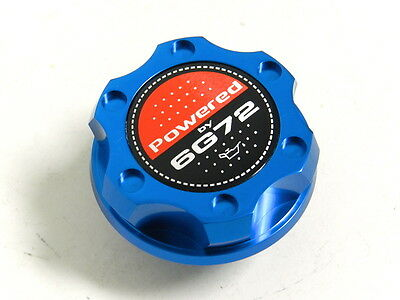 BLACK ENGINE OIL V2 STYLE RACING ENGINE OIL FILLER CAP FOR MITSUBISHI CF