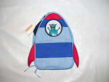 NWT GYMBOREE SPACE SHIP ALIEN OUTER SPACE LUNCHBOX LUNCH BAG BACK TO SCHOOL