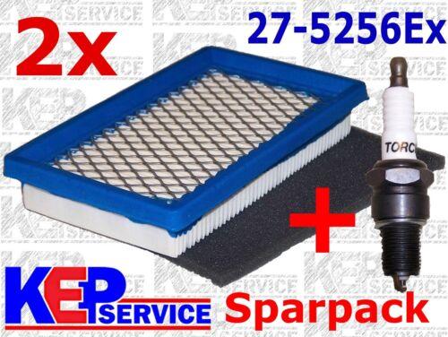 2x Luftfilter Vorfilter Zündkerze Einhell Rasenmäher  RPM 51S GM 51-Z BG-PM51S