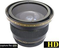 Ultra Super Hd Panoramic Fisheye Lens For Sony Nex-f3 Nex-c3 Nex-3
