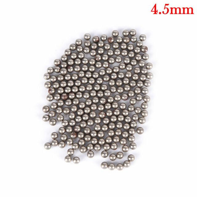 600pcs Steel Ball For Bearing Slingshot Ammo Catapult Hunting Outdoor Game 4.5mm