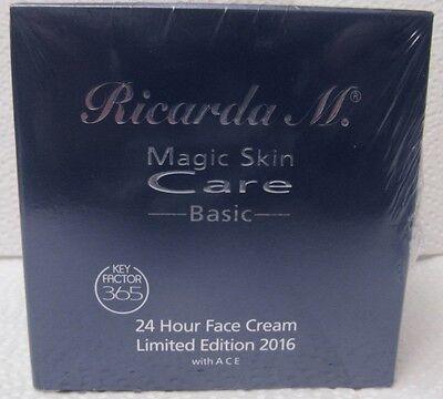 (100ml/20,-€) RICARDA M. MSC 24 Stunden Creme,KEY FAKTOR,Hour Face Cream! 200ml!
