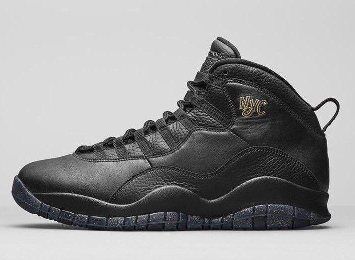 Nike Air Jordan 10 Retro 'NYC' Hommes Trainers New