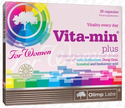 Olimp Vita-min Plus Per Le Donne, Multivitaminico Dla Kobiet Complesso Di Vitamine & Minerali-