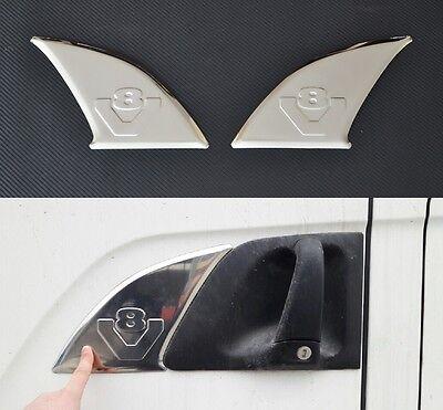 1/x placa de acero inoxidable para Scania camiones V8/pulido decoraci/ón accesorios
