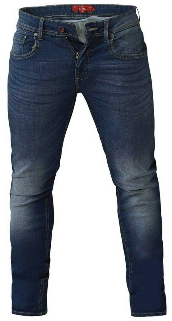 D555 Ambpink Stretch Jean With Extra Long Leg