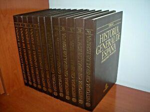 HISTORIA-GENERAL-DE-ESPANA-12-TOMOS-COMPLETA-EDITORIAL-PLANETA-1981