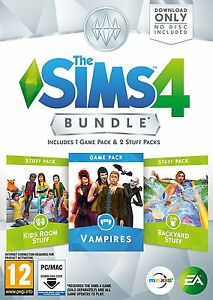 The-Sims-4-Paquet-Paquet-7-PC-Neuf-Scelle-Enfants-Vampires-Backyard