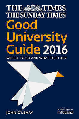 1 of 1 - The Times Good University Guide 2016: Where To Go And What To Study [NewEdition]