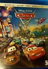 Disney Pixar Cars 2 (Blu-ray/DVD, 3-D 5-Disc Set, No Digital Copy