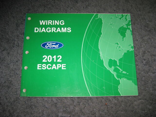 2012 Ford Escape Wiring Diagrams Repair Service Manual