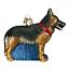 034-German-Shepherd-034-12212-X-Old-World-Christmas-Glass-Ornament-w-OWC-Box thumbnail 1