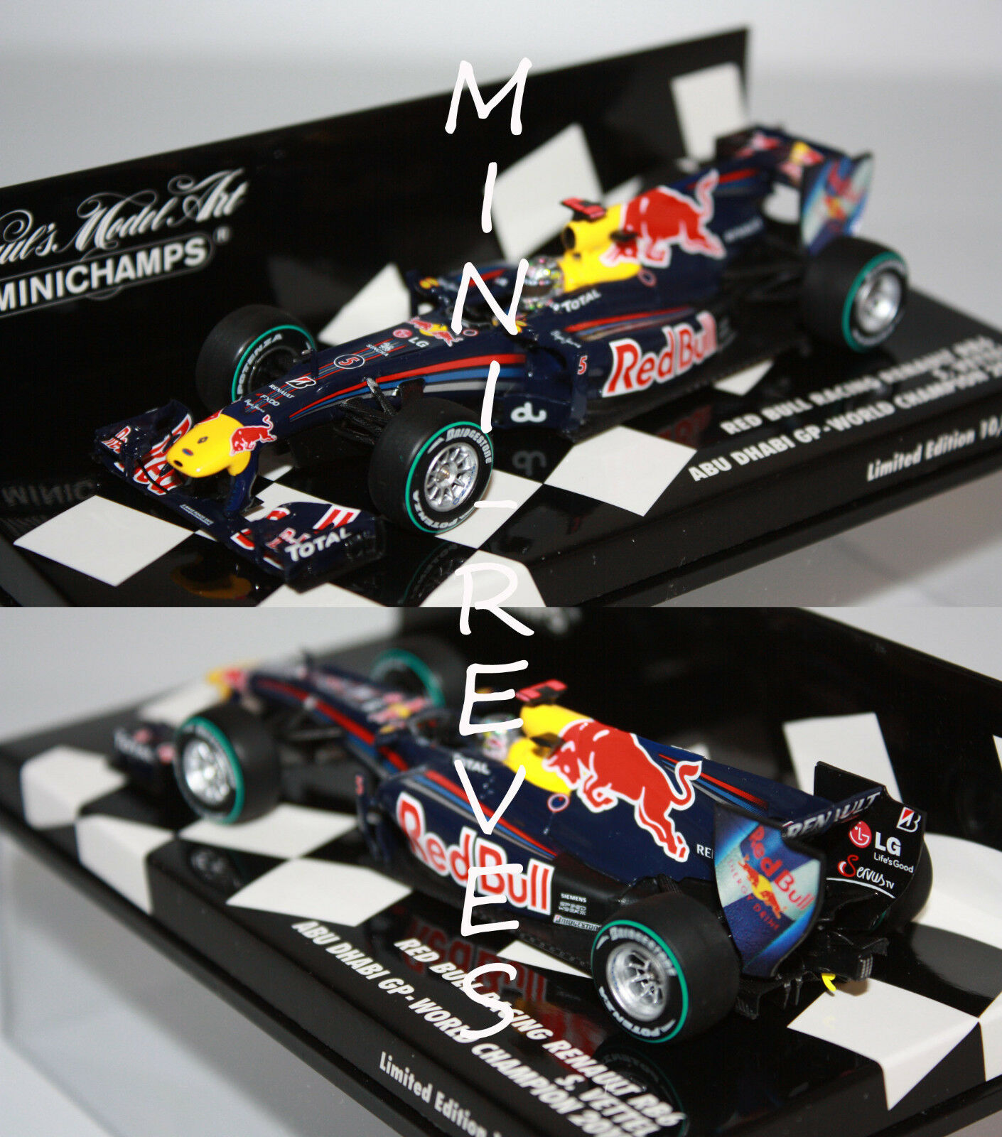 Minichamps F1 Red Bull Racing RB6 S. Vettel WC 2010 410100105 | Outlet Online Store