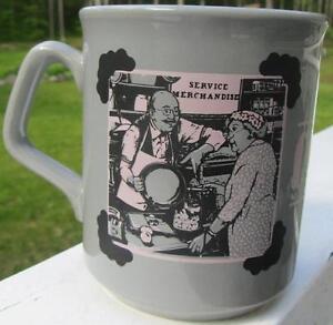 Vintage Service Merchandise Dept Store Old Fashioned Courtesy Mug Cup England Ebay