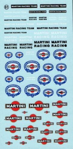 061 Decalbogen Martini 1:43