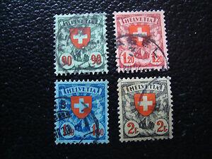 Switzerland-Stamp-Yvert-and-Tellier-N-208-A-211-Obl-A15-Stamp-Switzerland