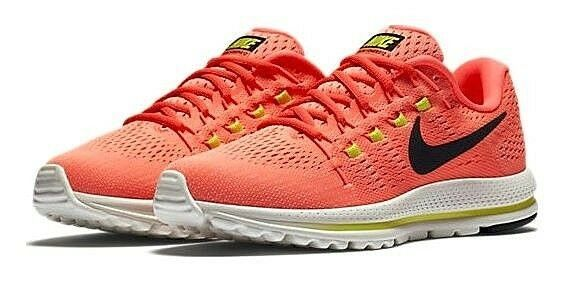 ec279faa3e4 ... Nike Air Zoom Vomero 12 12 Vomero Pink Volt Gym Running Shoes 12 Womens 863766  600 ...