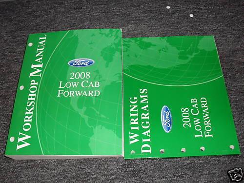 2008 Ford Low Cab Forward Service Shop Repair Manual Set