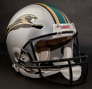 jacksonville jaguars 1995 riddell authentic throwback football helmet. Cars Review. Best American Auto & Cars Review