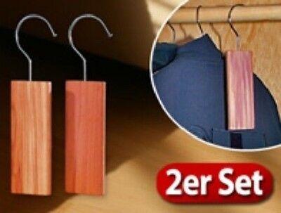 Neu & Sofort Kaufe Jetzt Unparteiisch ZedernholzblÖcke Mit Metallhaken Gegen Motten Natürliche Abwehr