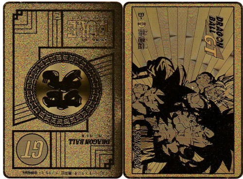 Custom HK Card Metal Card GT N° B-11 Dragon Ball Fan SuperBattle