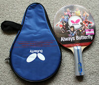Butterfly Tbc402 / Tbc-402 Table Tennis Paddle / Bat, With Case,