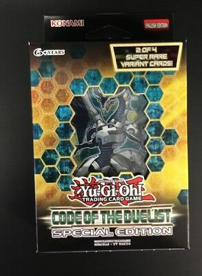 Yu-Gi-Oh Code of the Duelist Special Edition Display Box Factory Sealed YuGiOh