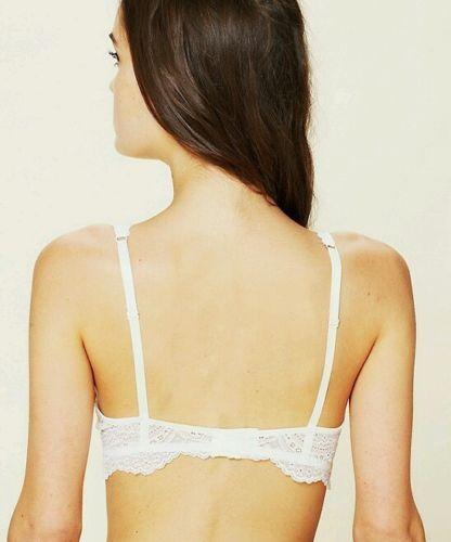 New $48 Intimately Free People Lace Plunge Undwire Bra