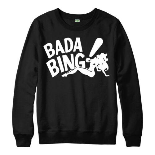Bada Bing strip club maglione i sopranos ispirato Unisex adulto /& Bambini Maglione Top