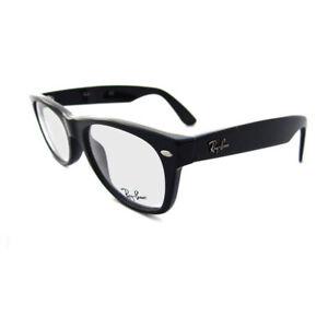 61cb00c2542 Original Ray-Ban Ray Ban Wayfarer Eyeglasses RX RB 5184 Rb5184 2000 Black 50